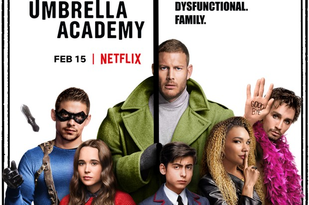 The Umbrella Academy Temporada 1 Espa&ntildeol y Vose Disponible
