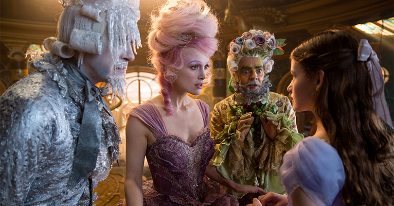 The Nutcracker and the Four Realms - Richard E. Grant, Keira Knightley, and Eugenio Derbez
