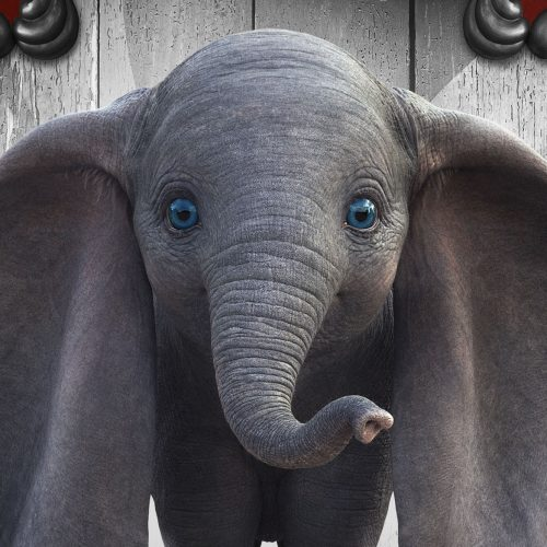 Dumbo looks creepy in new character posters featuring Michael Keaton, Colin Farrell