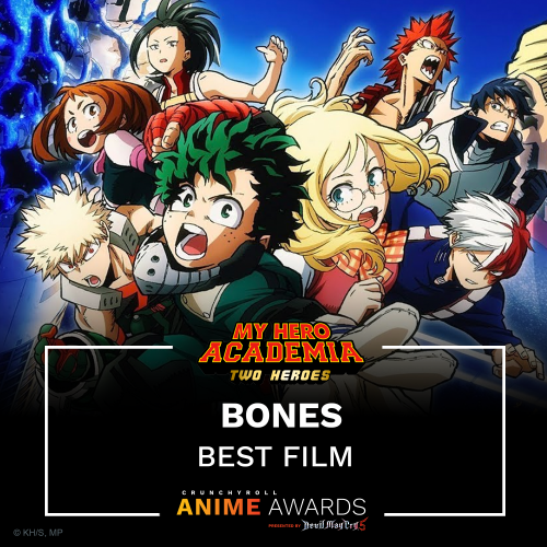 Crunchyroll Anime Awards winners list