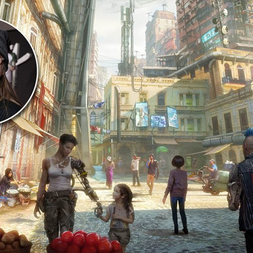 Alita: Battle Angel co-production designer Caylah Eddleblute on creating Iron City