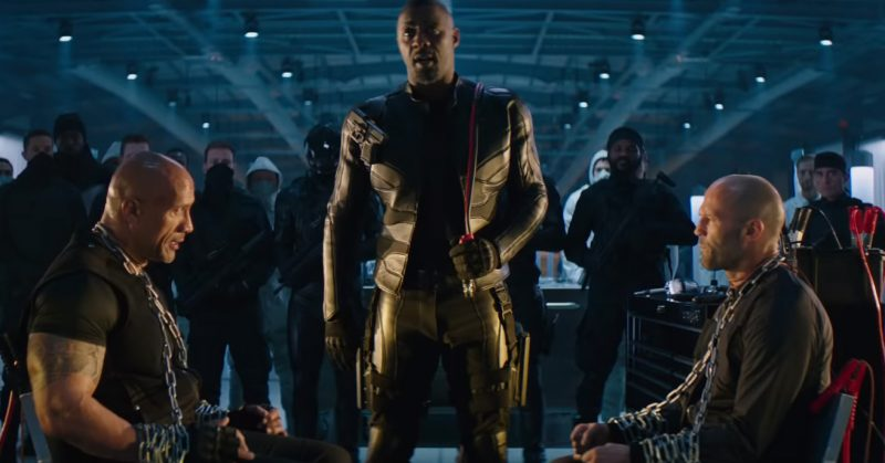 Hobbs and Shaw trailer Idris Elba