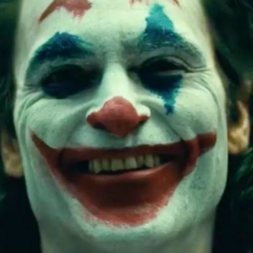 Possible laugh from Joaquin Phoenix on the Joker set