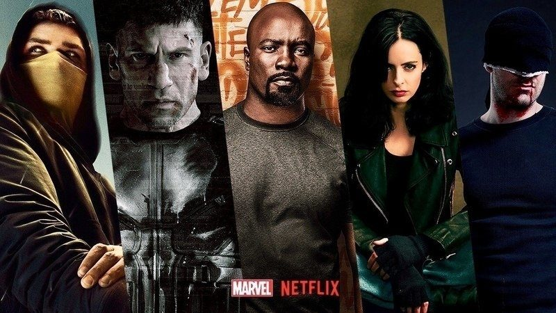 Netflix Punisher Jessica Jones Luke Cage Iron Fist