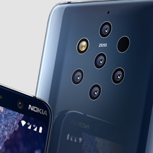 Nokia 9 PureView, a smartphone with 5 cameras