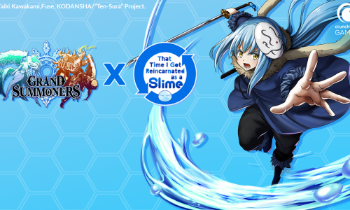 Crunchyroll announces Grand Summoners – That Time I Got Reincarnated as a Slime crossover event