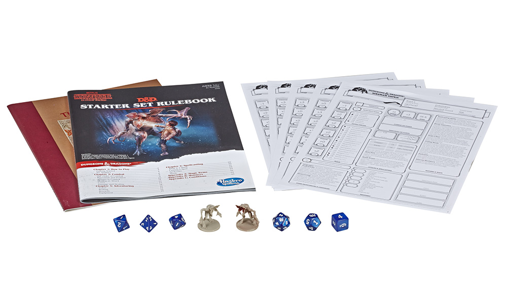 Stranger Things Dundeons and Dragons starter set
