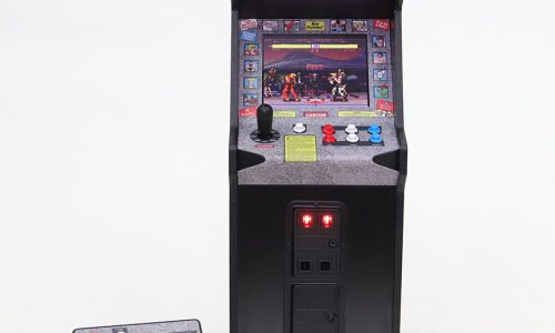 Street Fighter II miniature arcade cabinet coming in July