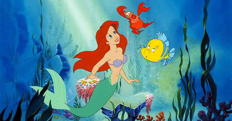 The Little Mermaid - Ariel, Sebastian, and Flounder