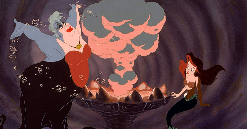 The Little Mermaid - Ursula and Ariel