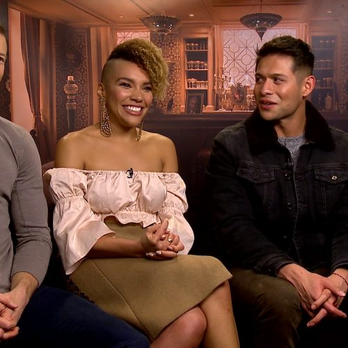 The Umbrella Academy's Tom Hopper, Emmy Raver-Lampman, David Castaneda on romantic dance scene and fave characters