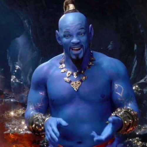 Fans are disturbed by Will Smith's genie in new Aladdin trailer