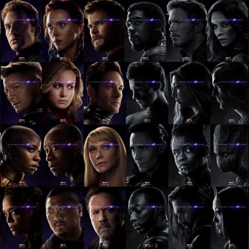 Avengers: Endgame posters reveal who's alive and who's dead