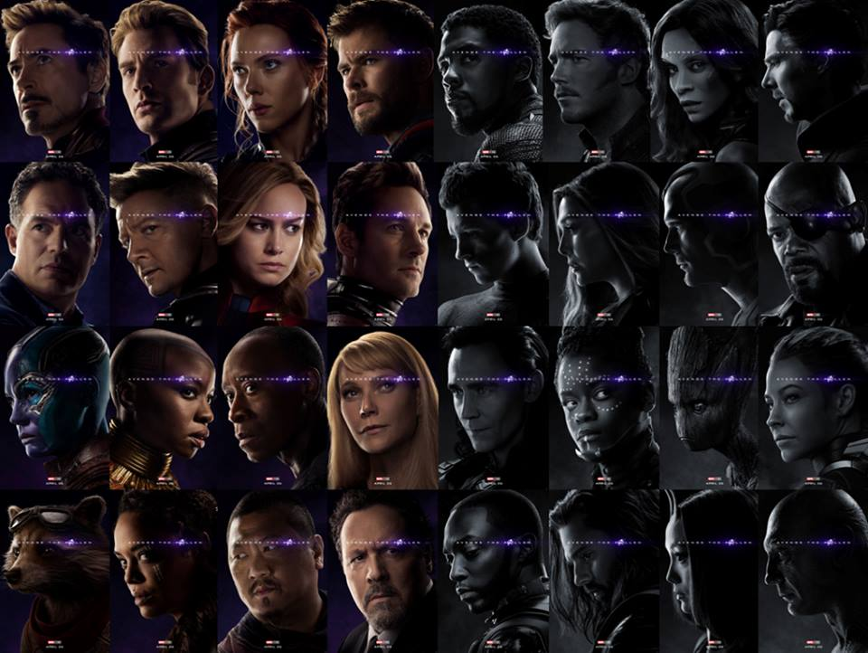 Avengers Endgame Posters Reveal Who S Alive And Who S Dead Nerd