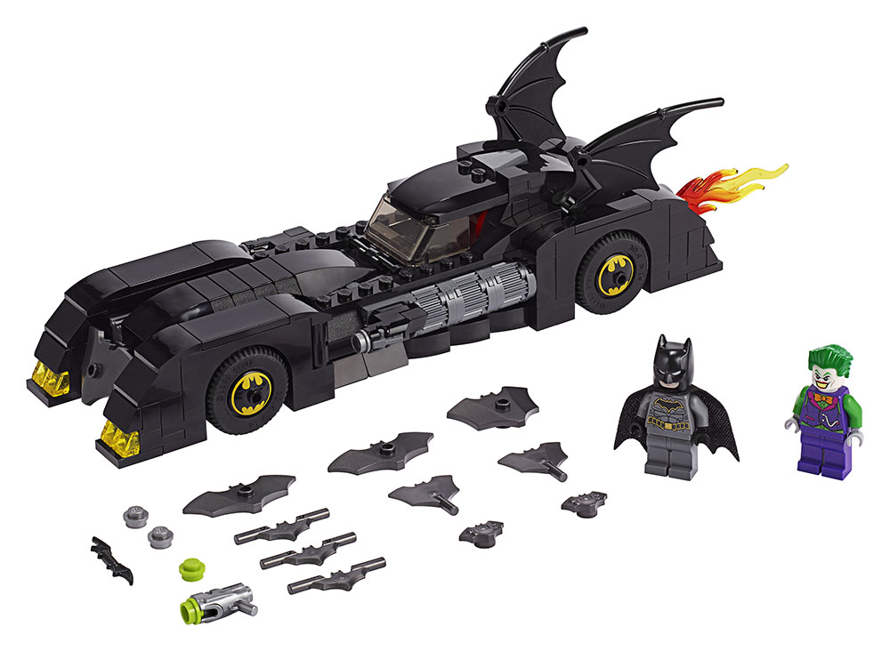 Batman 80th Anniversary LEGO set