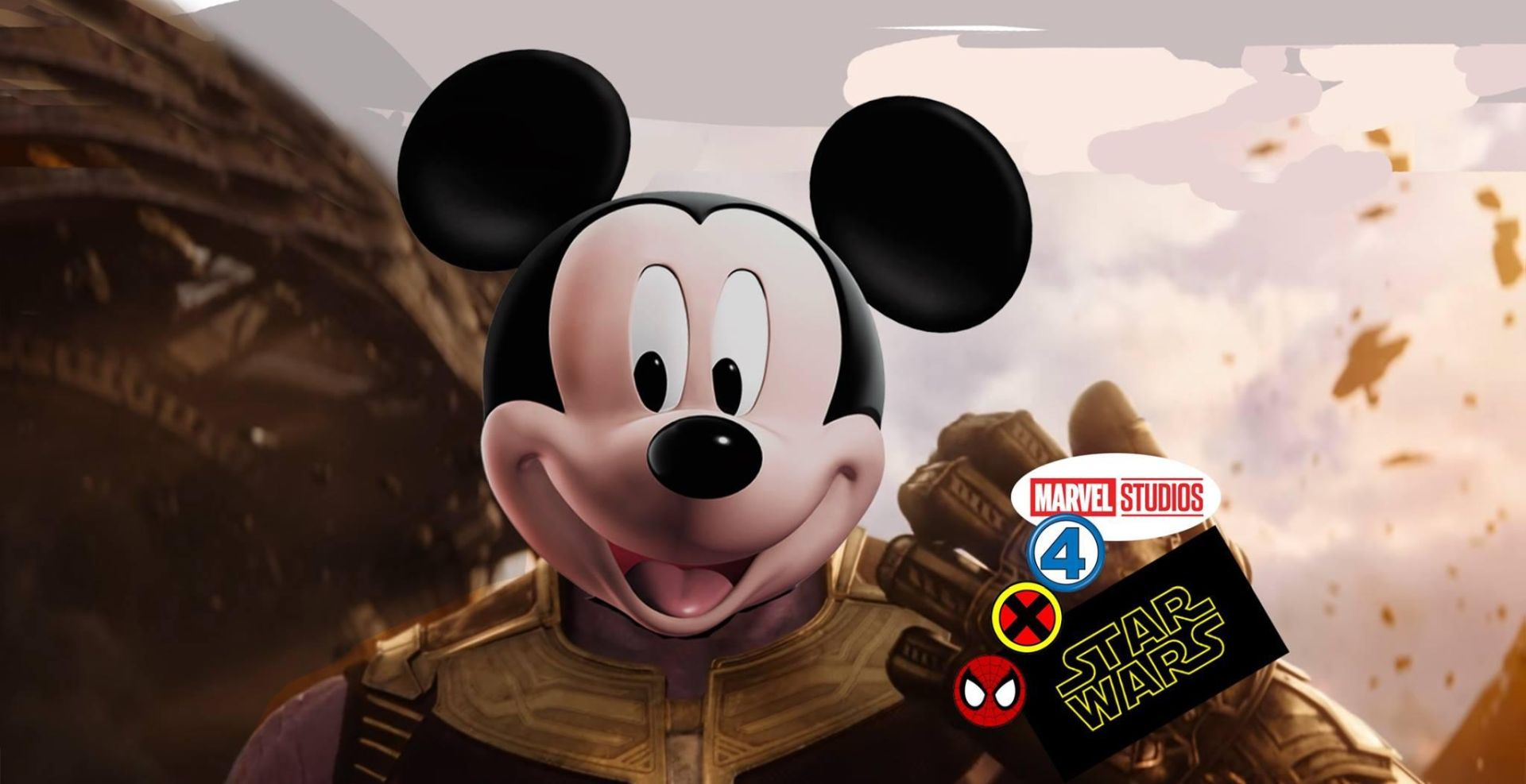 Disney Mickey Fox