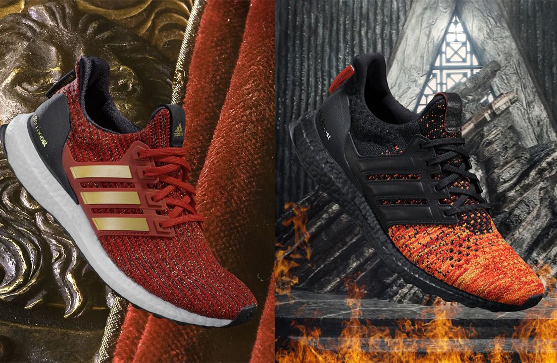 Game of Thrones adidas ultraboosts lannister targaryen