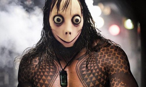 Jason Momoa is turned into Momo on social media