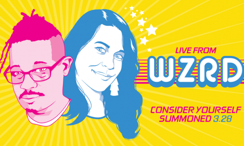Live from WZRD, a magical variety show streaming now on VRV
