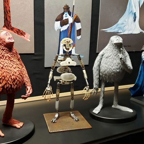 Set visit: Creating Laika's stop-motion animated film, Missing Link