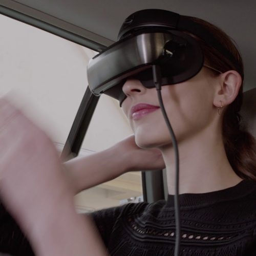 Luci Immers is a new cinematic headset with dual-micro OLED displays
