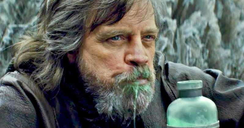 Star Wars Last Jedi Mark Hamill Luke Skywalker