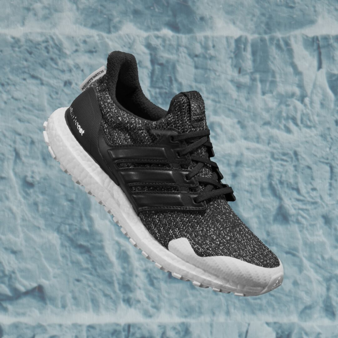 78b33c8cc1a adidas running x Game of Thrones Ultraboost Night s Watch. The Night s  Watch is an ancient order protecting the Wall from the White Walkers