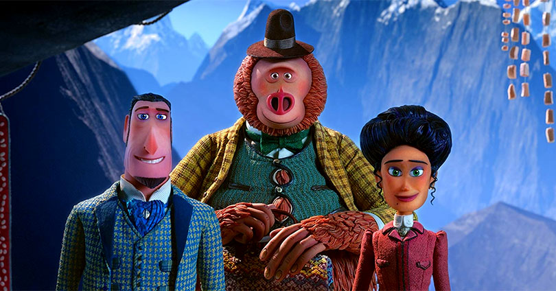 Missing Link - Hugh Jackman, Zach Galifianakis, and Zoe Saldana
