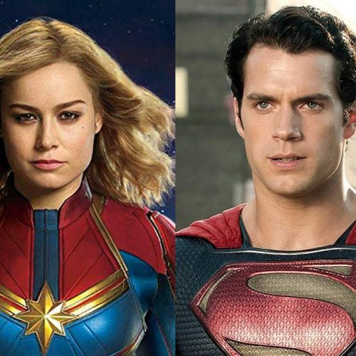 Brie Larson believes Captain Marvel can beat up Superman