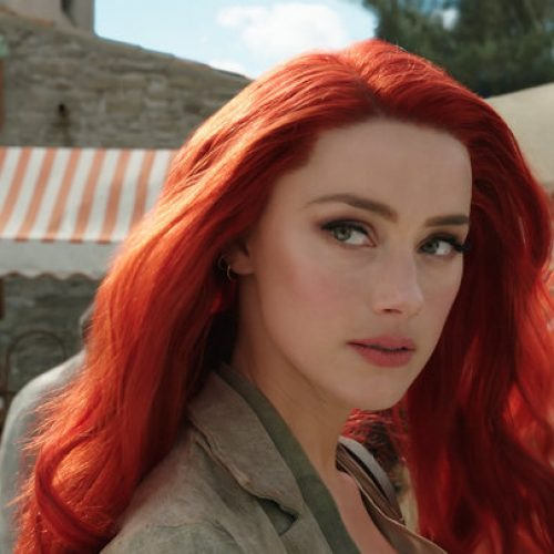 There's a petition that wants Amber Heard removed from Aquaman 2