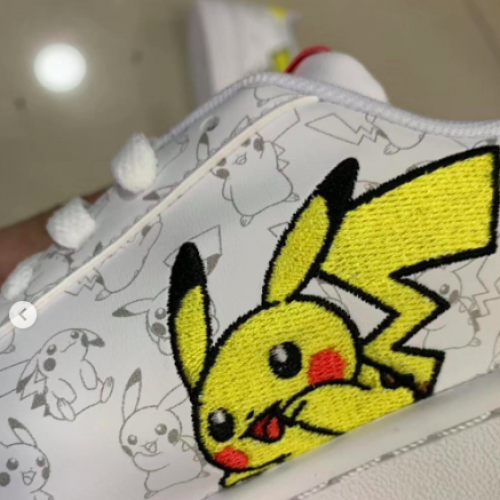 Check out the possible Adidas x Pokemon collaboration