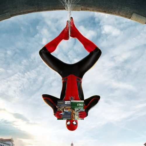Spidey poses all over Europe in Spider-Man: Far From Home posters