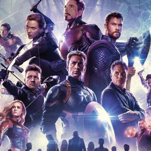 Avengers: Endgame Chinese poster has survivors ready for action with silhouettes of the fallen