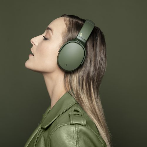 Elevated Olive highlights Skullcandy's 12 Moods for April