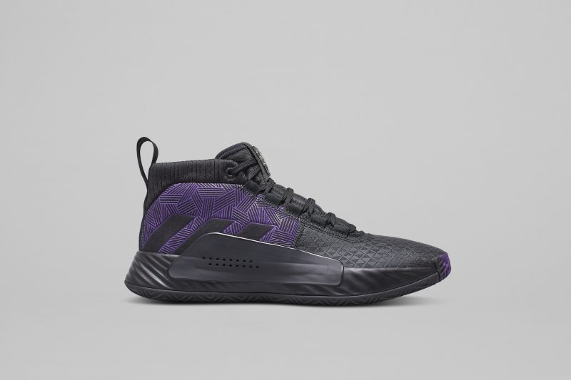 Adidas Basketball and Marvel shoes: Black Panther