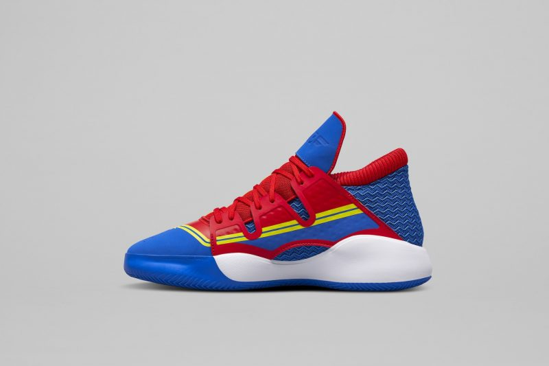 Adidas Basketball and Marvel shoes: Captain Marvel