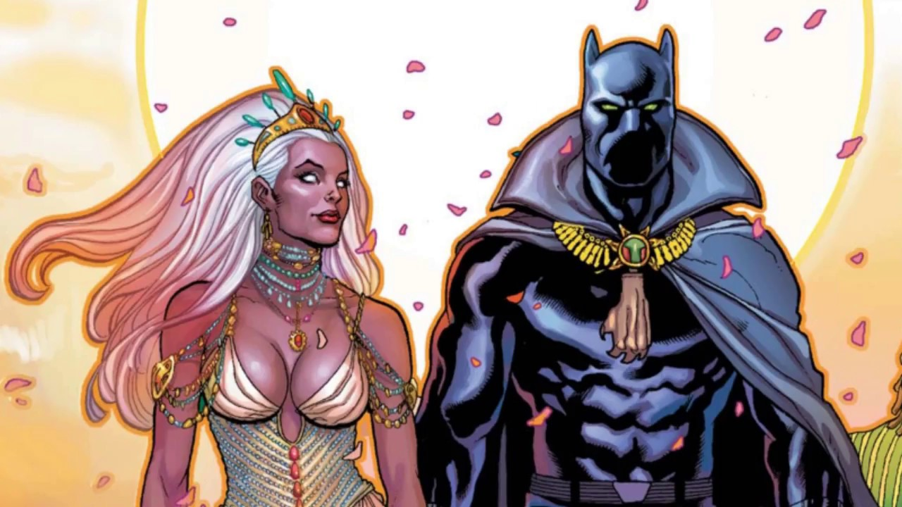 Black Panther Storm wedding 2