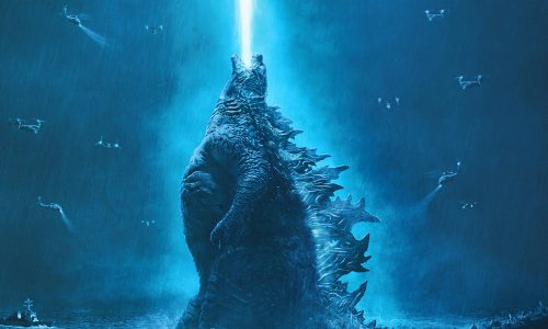 New Godzilla: King of the Monsters poster shows the kaiju firing toward the sky