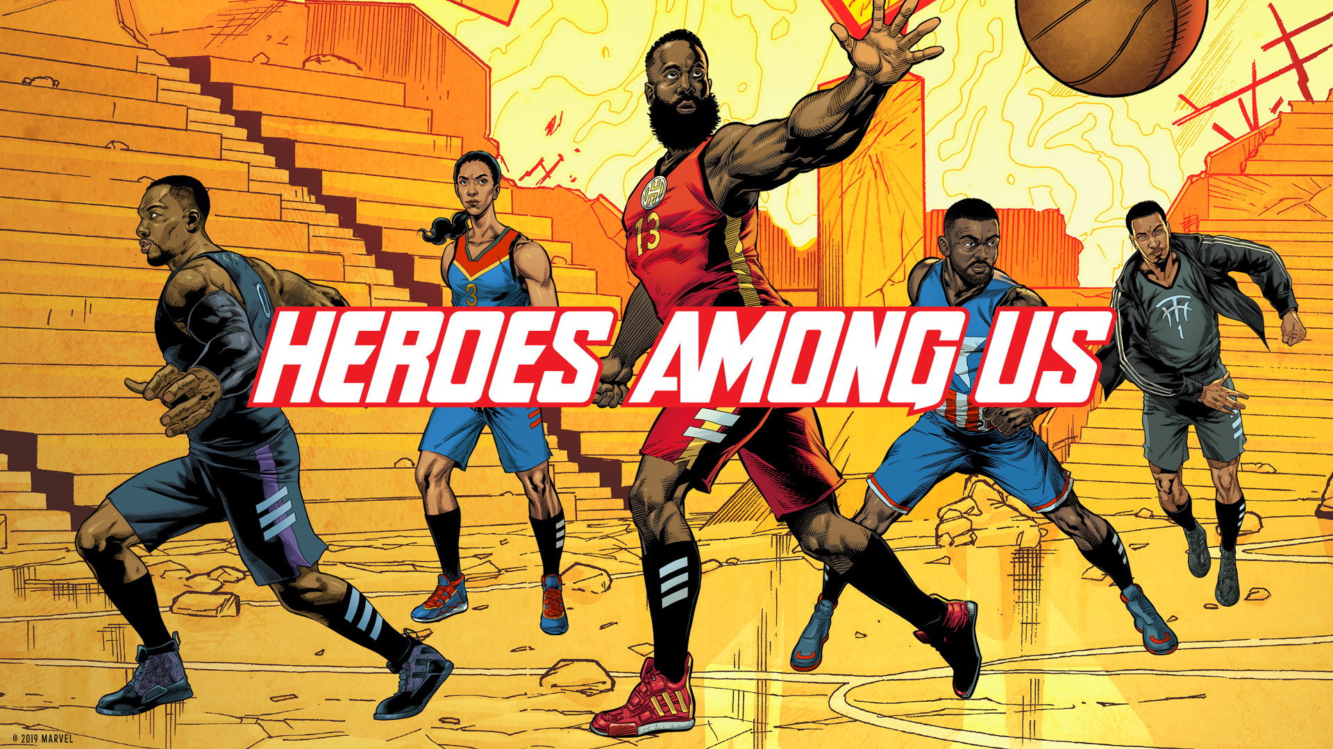 Adidas Teams Up with Marvel for 'The Avengers' Inspired