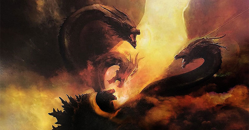 Godzilla: King of the Monsters Comic-Con Poster