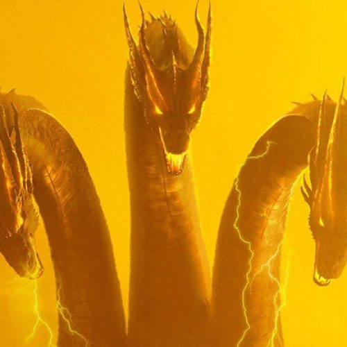 CinemaCon 2019: Ghidorah comes alive in Godzilla: King of the Monsters clip (footage description)