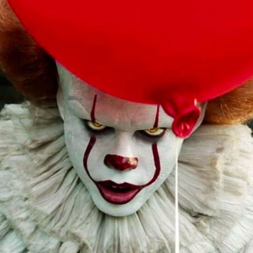 CinemaCon 2019: Pennywise terrorizes Beverly in It: Chapter Two clip (footage description)