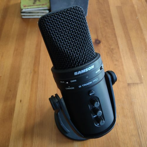 Samson G-Track Pro USB Microphone review