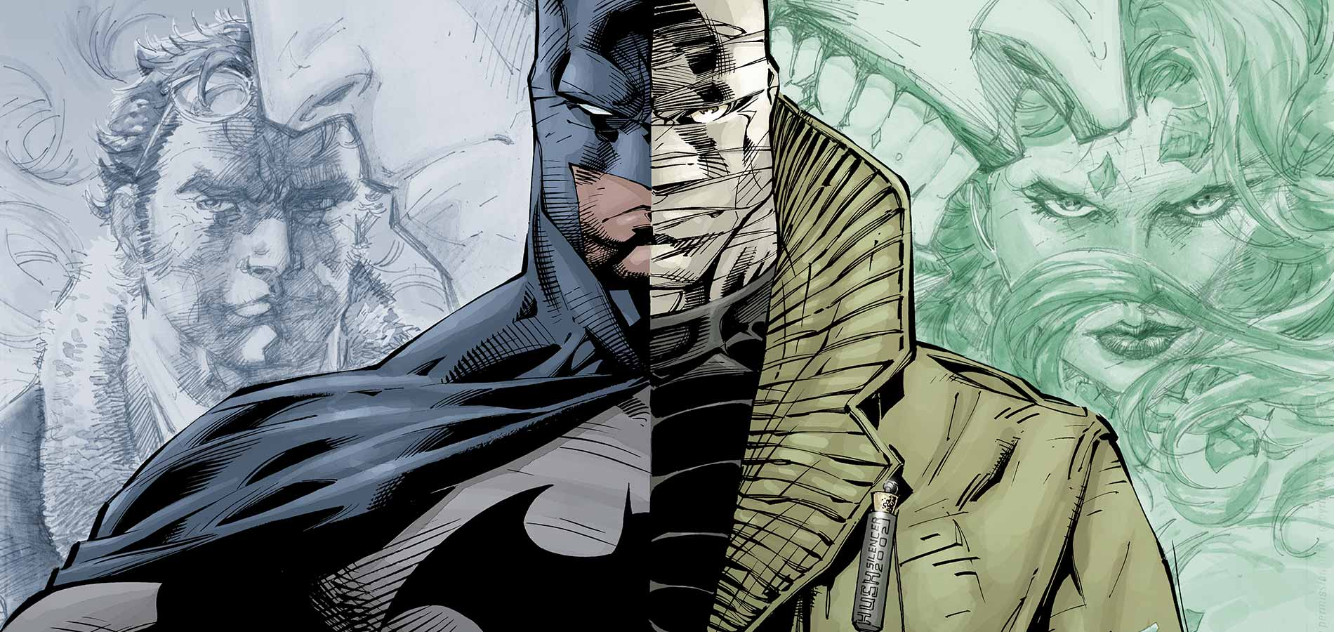 Batman: Hush Jim Lee