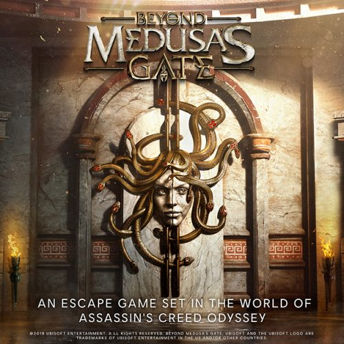 Assassin's Creed gets location-based VR escape room with Beyond Medusa's Gate