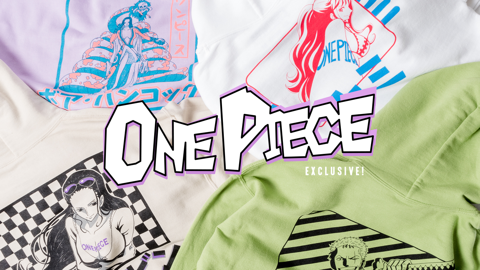 Crunchyroll launches One Piece streetwear collection ...