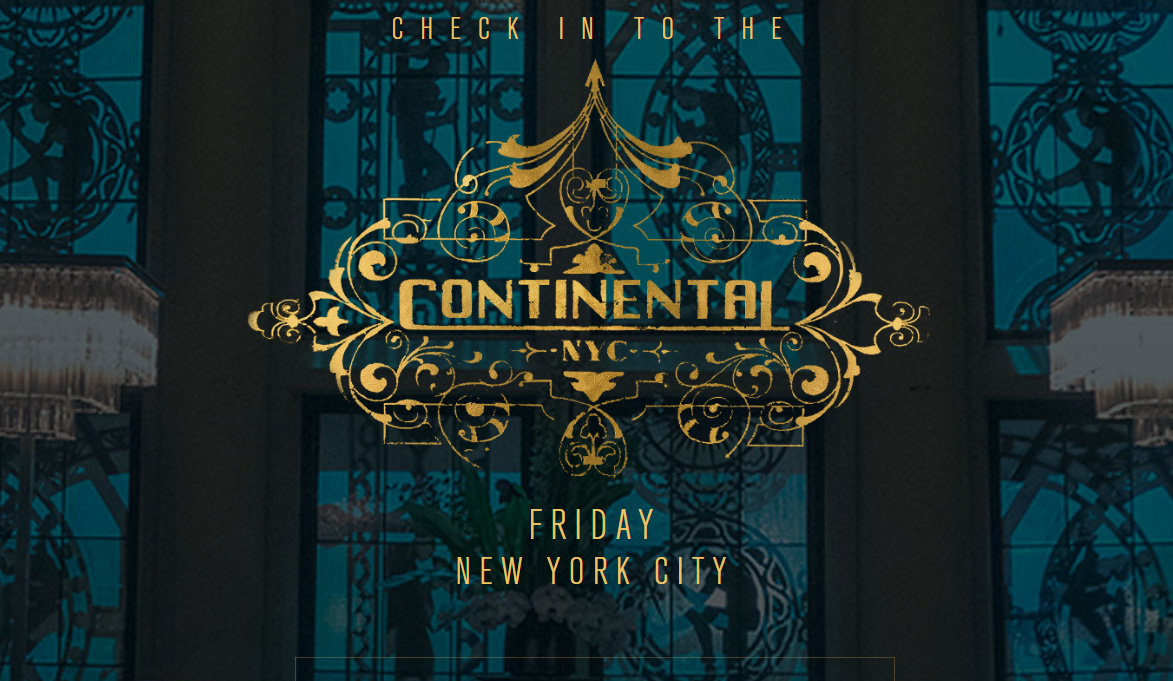 Check In To The John Wick Chapter 3 S The Continental