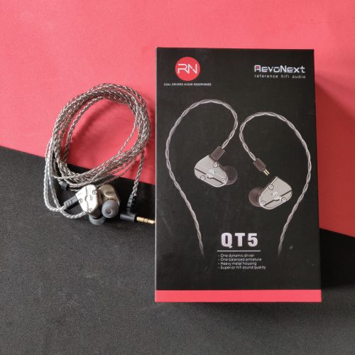 RevoNext QT5 Dual Driver IEM headphones review