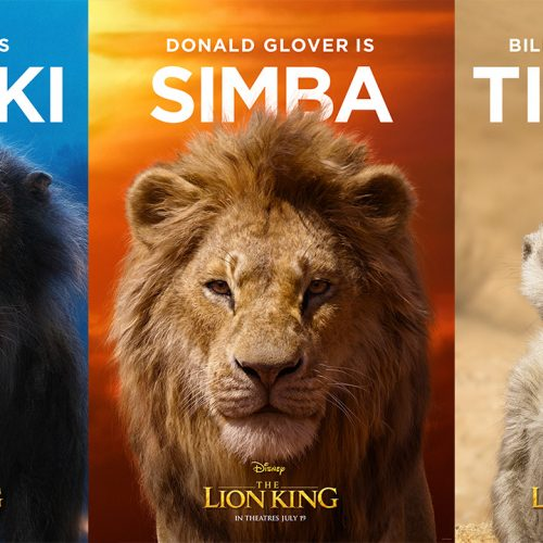 The Lion King gets new characters posters and TV spot