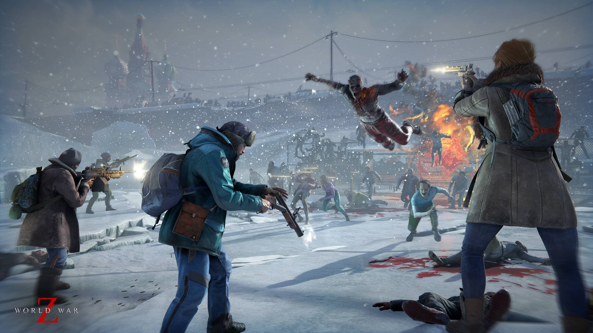 Co-op zombie shooter 'World War Z' close to 2 million units sold